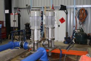 Test bay for Chevron