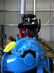 Fire Pump build_split case_Sterling